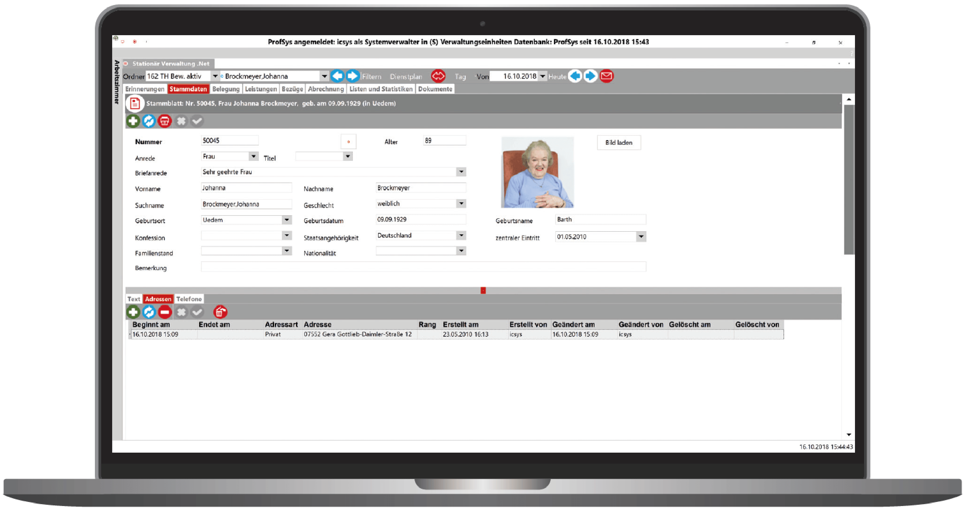 ProfSys-Altenhilfe-Stationaer-Laptop